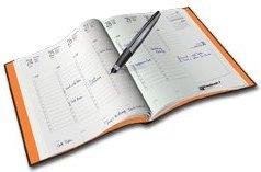 un'agenda per appuntamenti