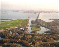 Il ponte della Libertà visto dall'alto