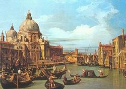 Canaletto, La chiesa della Salute