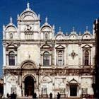 Facciata della Scuola Grande di S. Marco (ingresso dell'Ospedale)