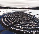 Una foto del Parlamento europeo
