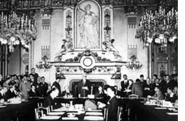 foto di Parigi 9 maggio 1950