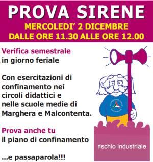 Mercoled 2 Dicembre 2009 Prova Sirene Con Esercitazione
