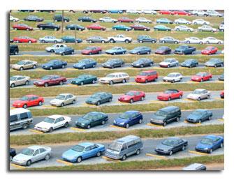 Foto di automobili parcheggiate