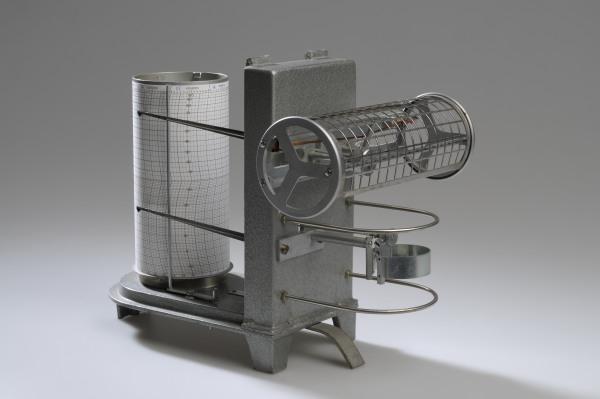 Termoigrografo modello Siap (foto F. Barasciutti)