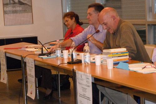 da sinistra: Isabella Stevanato, Eros Miari, Raffaele Salton
