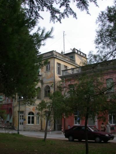 Sede dell'Osservatorio dell'Ospedale al Mare del Lido di Venezia