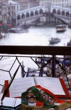 Vista dal balcone di Palazzo Cavalli