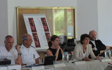 L'Assessore Carla Rey  con alcuni dei relatori