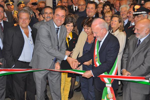 Inaugurazione nuovo complesso Rossini - taglio del nastro