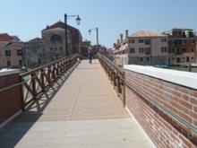 immagine del ponte accessibile di Quintavalle
