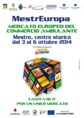 """Immagine della locandina di """"Mestreuropa, mercato europeo del commercio ambulante"""""""