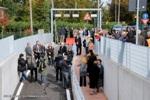 Inaugurazione del sottopasso via Parolari