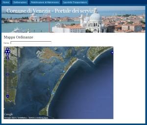 immagine portale georeferenziazione ordinanze