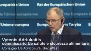 foto del commissario eu Adriukaitis