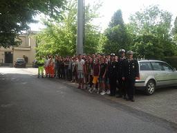 Giovani alunni in visita al C.O.M.