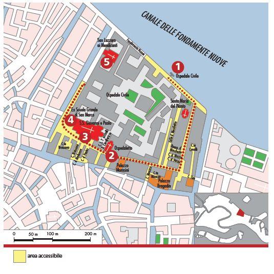 Mappa Ss. Giovanni e Paolo