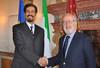 Orsoni incontra l'ambasciatore del Kuwait