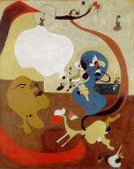 Joan Miró Interno olandese II / Intérieur hollandais II, 1928 PGC