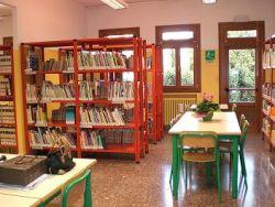 foto della biblioteca di Burano