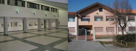aula magna loredan interno ed esterno