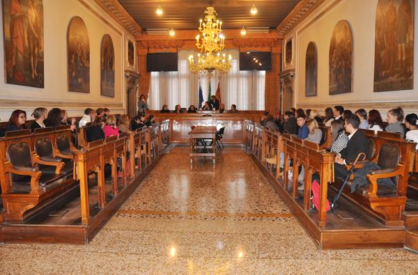 Ferrazzi accoglie studenti di San Pietroburgo a Venezia per uno scambio con l'Algarotti