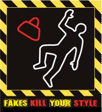 Logo iniziativa Fakes kill your style