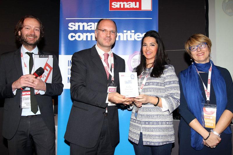 Foto della premiazione