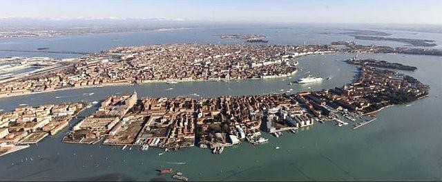 foto di Venezia vista dall'alto