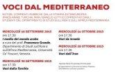 """Immagine della locandina """"Voci dal mediterraneo"""""""
