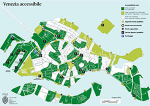 The Accessible Venice map