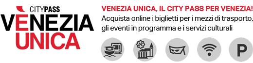 Venezia Unica, il city pass per Venezia