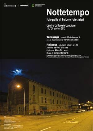 locandina Mostra Fotografica Nottetempo