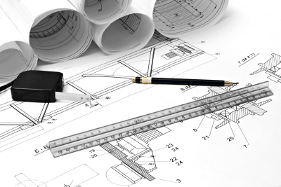 immagine di strumenti usati da architetti