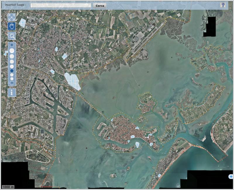 Consultazione interattiva delle mappe