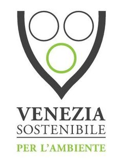 immagine del logo specifico ambiente composto da una coppa nera all'interno della quale ci sono tre cerchio, due neri e uno verde