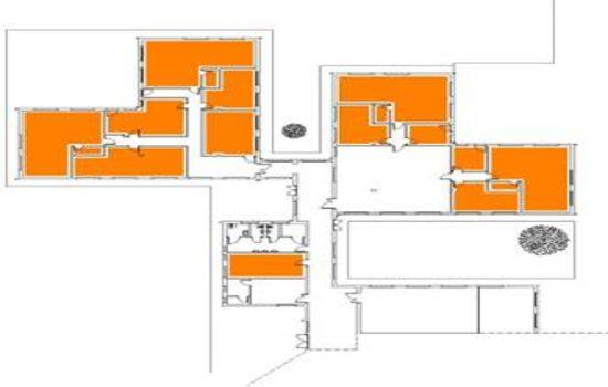 Mappa - Piano Terra Ex Scuola Gori