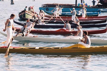 1987 Regata dei Campioni: l'attesa prima del via