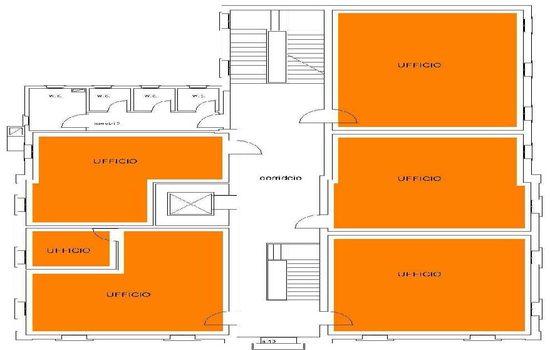 Mappa - Piano Primo Ex Scuola Media Filzi