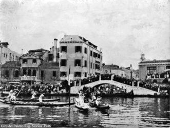 """1946 I Campioni alle prese con il giro del """"paleto"""""""