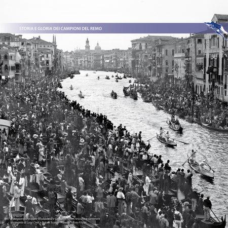 """1897 Al traguardo Pasquale Maddalena e Giovanni Fasan riescono a contenere la rimonta di Luigi Civili e Natale Scarpa """"Panetti"""" - Foto Filippi"""