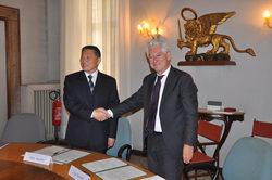 Luigi Bassetto e Qian Janmin