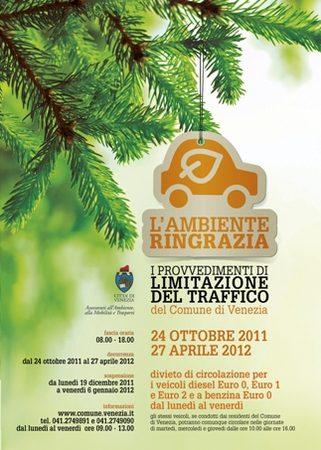 Locandina Limitazioni Traffico 2011-2012