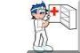 dottore con cassetta medicinali