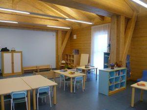 fotografia di un'aula