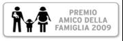 """logo del premio """"amico della famiglia"""""""