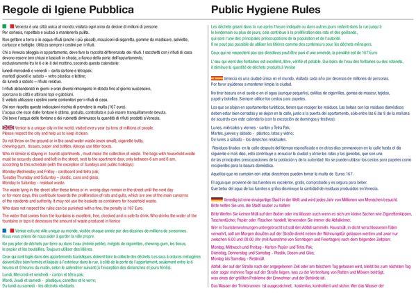 VERITAS - Nuova mappa dei servizi igienici pubblici in città ...