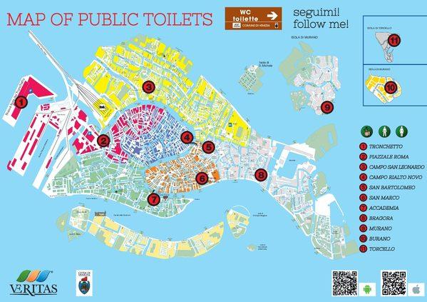 Veritas nuova mappa dei servizi igienici pubblici in for Dove si trova la camera dei deputati