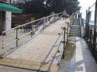 Immagine di una delle rampe