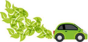 Logo immagine autoveicolo più ecologico